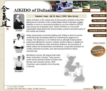 Aikido of Dallas Screenshot